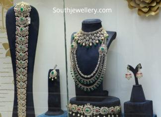 bridal diamond jewelelry set by pmj jewels