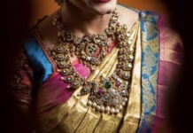 bride antique gold jewellery