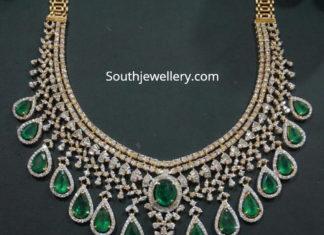 diamond emerald haram latest designs