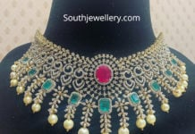 diamond emerald ruby necklace