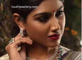 diamond necklace parnicaa