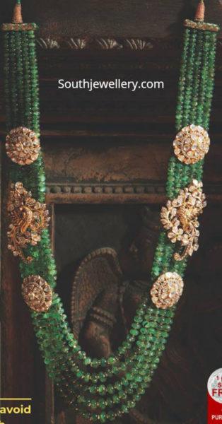 emerald beads mala 2