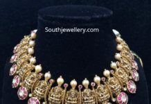 lakshmi bottu necklace