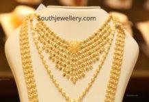 malabar gold necklace designs