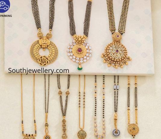 neelkanth jewellers black beads chains