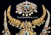 pacchi jewellery set