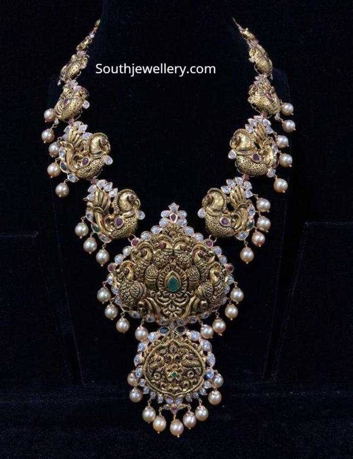 peacock nakshi haram designs