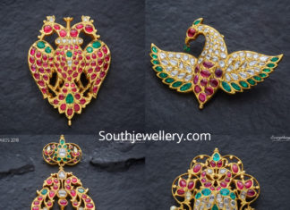 peacock pendants