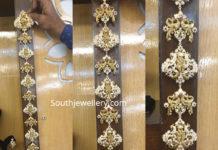 radhika krishna antique gold jada