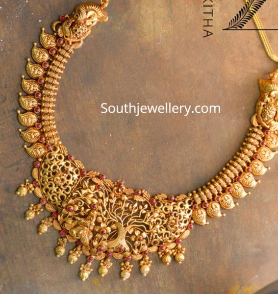 traditional mango necklace