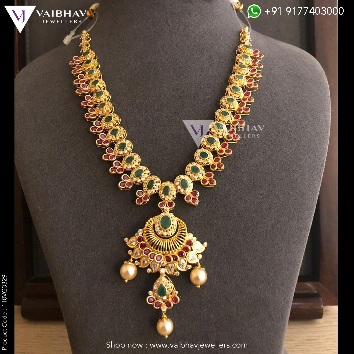 South Indian 22k Gold Jewellery Online