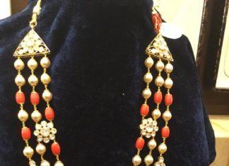 coral beads mala