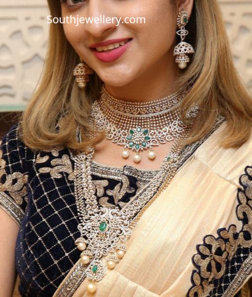 bridal diamond jewellery manepallly
