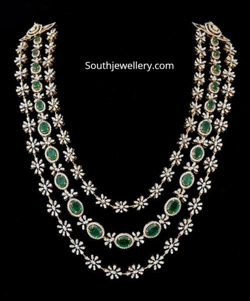 diamond emerald haram floral