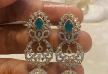 diamond emerald jhumkas satyanarayan and sons