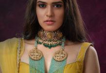 lakshmi choker and emerald kmala