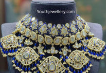 polki diamond choker satyanarayan and sons