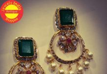 polki emerald chandbalis