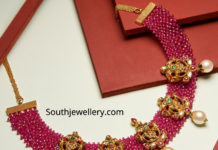 nakshi ruby necklace