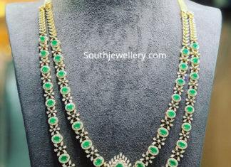 layered dimond emerald haram
