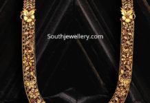antique gold nakshi haram