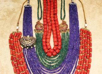 beads necklace designs latest
