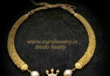 kante necklace with diamond pendant