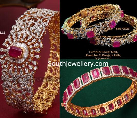 5416965ed2dac Diamond Bangles latest jewelry designs - Page 13 of 18 - Jewellery ...