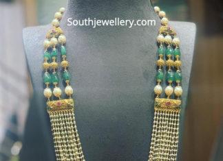 multi staring beads mala designs