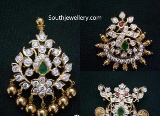 small diamond pacchi pendants
