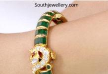 emerald bangle