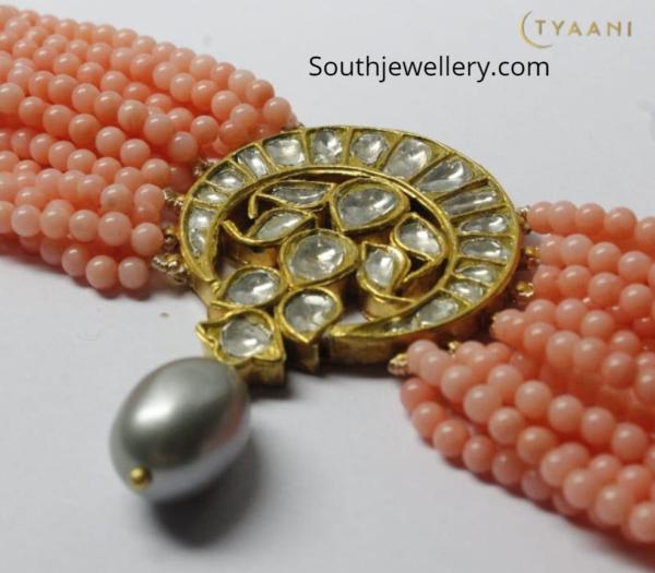 beads choker plus bracelet