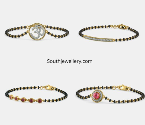 hand mangalsutra bracelet bluestone