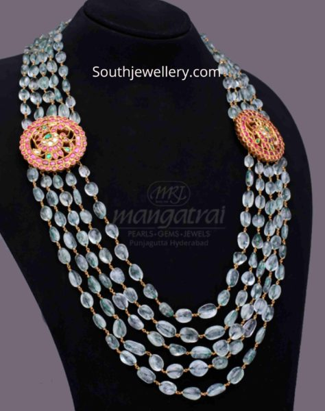 indian beaded necklace designs