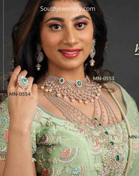 indian diamond jewellery designs