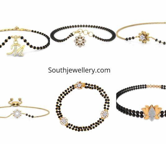 light weight hand mangalsutra bracelet designs (2)
