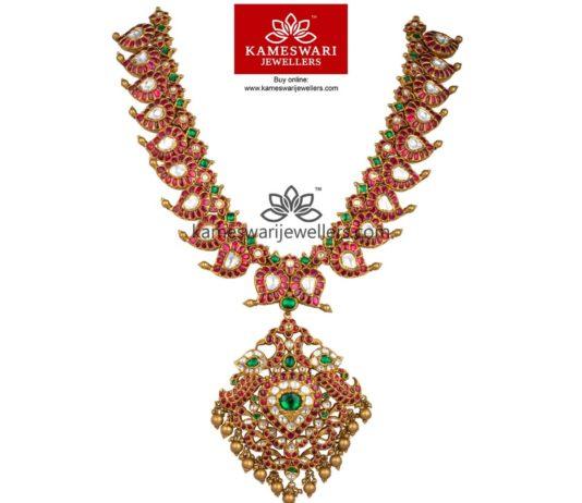 Burmese Ruby Mangomala with Detachable Pendant