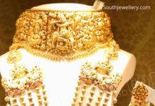 indian gold necklace designs 22k gold