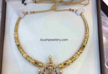 kanthi necklace with krishna pendant