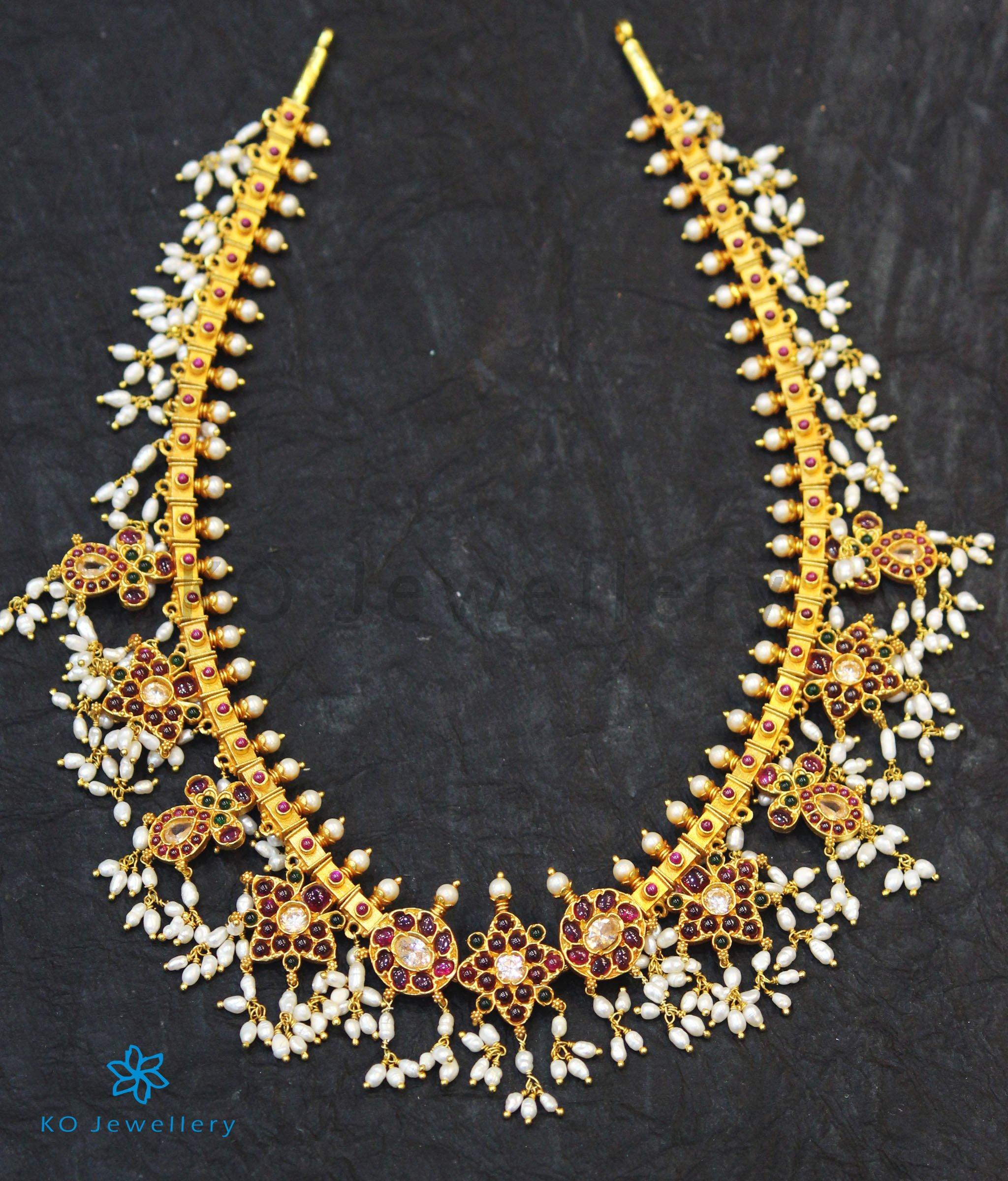 gold plated silver guttapusalu