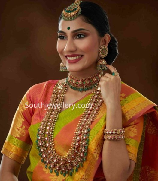 kundan jewellery set navrathan jewellers (1)