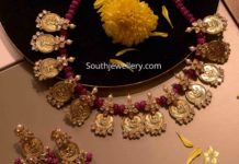 lakshmi devi kasu necklace