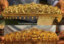lakshmi temple vaddanam designs
