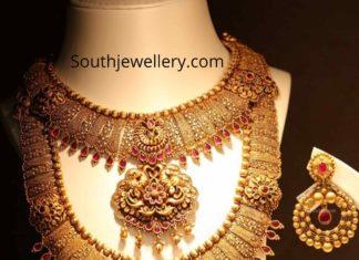 latest gold haram designs joyalukkas (2)