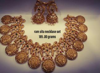 ram sita necklace