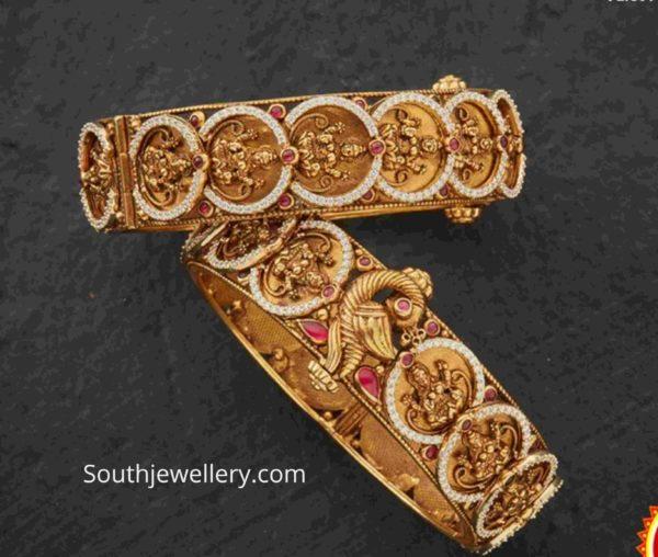 temple jewellery bangles (1)