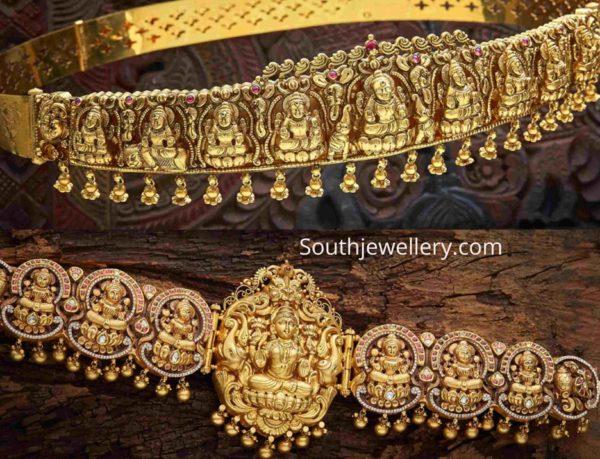 temple jewellery vaddanam designs (1)