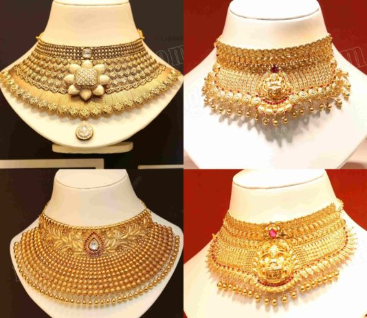 4aa841954abd4 Gold Necklace latest jewelry designs - Jewellery Designs