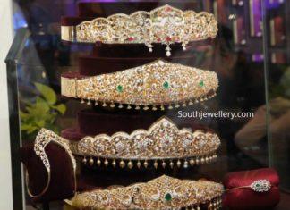 diamond vaddanam designs tanishq