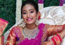 half saree function jewellery